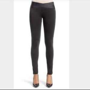 CAbi #521 PullOn Black Ponte Skinny Leggings Small